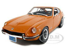 1971 DATSUN 240Z ORANGE 1:18 DIECAST MODEL CAR BY MAISTO 31170