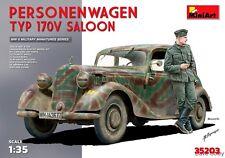MiniArt 35203 1:35th SCALA Personenwagen MERCEDES Tipo 170V Saloon & Figura SECONDA GUERRA MONDIALE