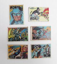 Vintage 1966 Batman Cards Lot Of 6 #7,19, 26,28, 32, 47