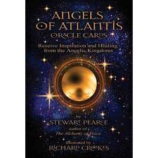 Angels of Atlantis Oracle by Pearce Stewart 1844095436 Findhorn Press Ltd