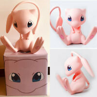 1:1 Pokemon Mew Action Figure Toy Desk Decor PVC Model Boys Gift Collection 40cm