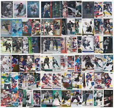 Teemu Selanne Lot 70 Different Cards Inserts Parallels NHL Hockey See Scans