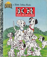 Little Golden Book : Disney's 101 Dalmatians (1996, Hardcover)