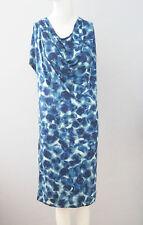 New GAP Size S Blue Cowl Neck Sheath Dress