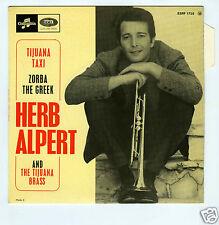 45 RPM EP HERB ALPERT TIJUANA TAXI