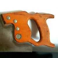 """Vtg ATKINS Silver Steel Hand Saw No. 51 Ship Wood Tool Made in the USA 22"""" *"""