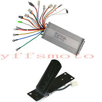 48V 1000W Electric Brushless Motor Speed Controller Foot Pedal Scooter ATV EBike