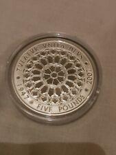 2007 Diamond Wedding Silver Proof Crown £5 Coin Royal Mint COA & Box