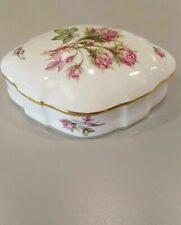 Limoges France Pink Rose Box