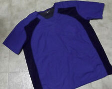 Royal Blue Scrub topwith Elastic Sides by Butter Soft-Med
