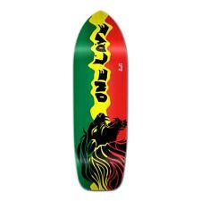 Yocaher Old School Longboard Deck - Rasta 2