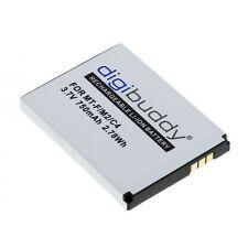 digibuddy Akku Li-Ion für AVM FRITZ!Fon MT-F M2 C4 312BAT006 - 750mAh - NEU
