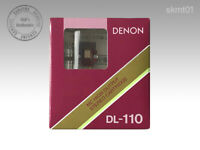 DENON Moving Coil DL-110 MC High Output Stereo Cartridge from Japan DHL Fast NEW