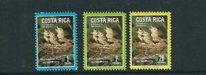 COSTA RICA 1979 Year of the Child BABY BIRDS (Scott C747-749) VF MNH