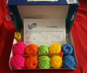1990s - Galt - First Knitting including French Knitting - Great for Beginners