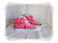 Zapatillas Cantidades De fantasía Estampado Blanco y Rojo Boom Bap Wear Talla 42
