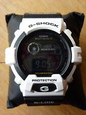 CASIO G-Shock Mens Tough Solar Atomic Watch - Black/White - Excellent Condition