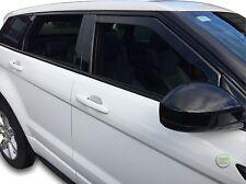 Range Rover Evoque 2011-up conjunto de frente viento desviadores Heko teñido 2pc