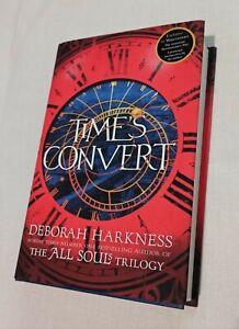 Time's Convert-Deborah Harkness - Autografato-Edizione Limitata
