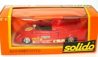 SOLIDO VINTAGE NO. 41 ALFA ROMEO LE MANS RACE CAR - BOXED