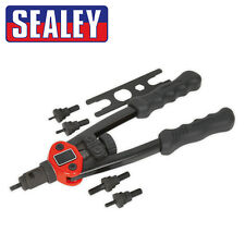 Sealey AK3984 Short-Arm Threaded Nut Riveter Nutsert Rivnut Captive Insert Tool
