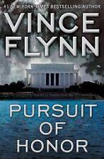 VINCE FLYNN Pursuit Of Honor 1st ed FINE HCDJ Mitch Rapp CIA TERRORISTS