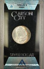 1880-CC GSA Hoard Morgan Silver Dollar Coin ANACS MS-64 Toned OBV w/ Box & COA