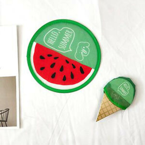 Creative Cute Cartoon Portable Fans Foldable Small Round Hand Fan Cooling Pocket