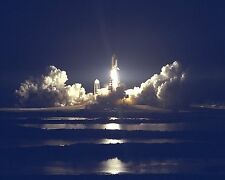 Nightime launch of Space Shuttle Atlantis for STS-86 mission KSC Photo Print