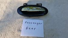 97 NISSAN ALTIMA  REAR Passenger Exterior  Door Handle Black & Chrome OEM