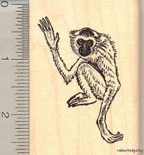 Gibbon monkey ape rubber stamp J11506 WM