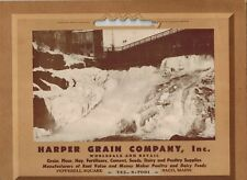 Harper Grain Company Pepperell Square Saco Maine Poultry Dairy Feeds Agriculture