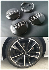 4 X Original Audi Alloy Cover Hub Caps 4B0601170