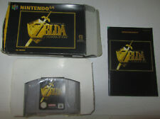 Zelda Ocarina Of Time - Nintendo 64 N64 PAL