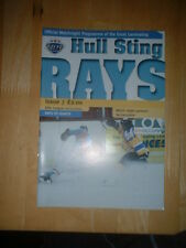2010/11 HULL STINGRAYS V BELFAST GIANTS ICE HOCKEY
