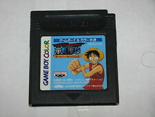 One Piece Yume no Lufy Kaizokudan Tanjou Game Boy Color GBC Japan cartridge only