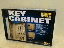 """New Hook Style Key Cabinet,28 Keys Cap Steel ,7-3/4""""x3-1/4 """"x11-1/2 """",PY by MMF"""