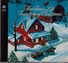 TIME-LIFE - TREASURY OF CHRISTMAS - DELUXE SET - 43 SONGS - MINT 2 CD SET