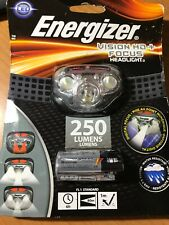 Energizer Vision Hd Focus Led Headlamp Batteries Included  250 Lumens NEW