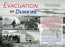 Liberia 2015 MNH Evacuation of Dunkirk 4v M/S Second World War WWII Little Ships