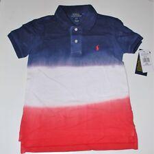Boys Genuine Ralph Lauren 3 Colour DIP Dye Polo Shirt - 2years
