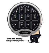 SecuRam Replacement Surelock Battery Compartment Sleeve - (No Keypad)