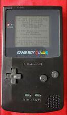 Nintendo Game Boy Colour Black + Tetris Game!