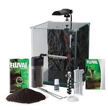 Fluval FLORA: Nano-Aquarium für Wasserpflanzen & Garnellen mit CO2-System 30 L