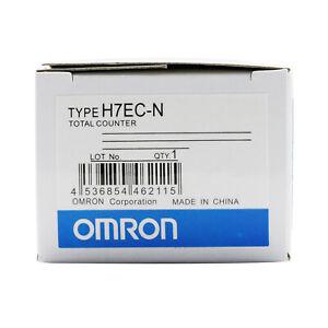 Omron H7EC-N Digital Total Counter Totalizer H7ECN Module New In Box