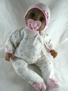 """Baby doll by Adora 3/4 vinyl limbs, and soft cloth body 16-17"""""""
