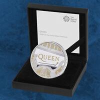 Großbritannien - Music Legends - Queen - £2 Pound 2020 Silber PP - United K ...