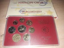 """Euro-Münzen Set """"Stuttgart (F)"""" spiegelglanz-2002, neu/OVP"""
