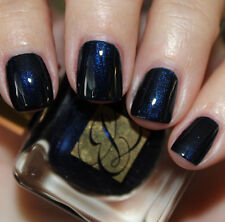 ESTEE LAUDER Vernis BLUE BLOOD Metal Shimmer BNIB Nail Polish Vamp Glitz Chic!!!