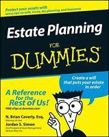 Estate Planning For Dummies by Caverly, N. Brian; Simon, Jordan S.